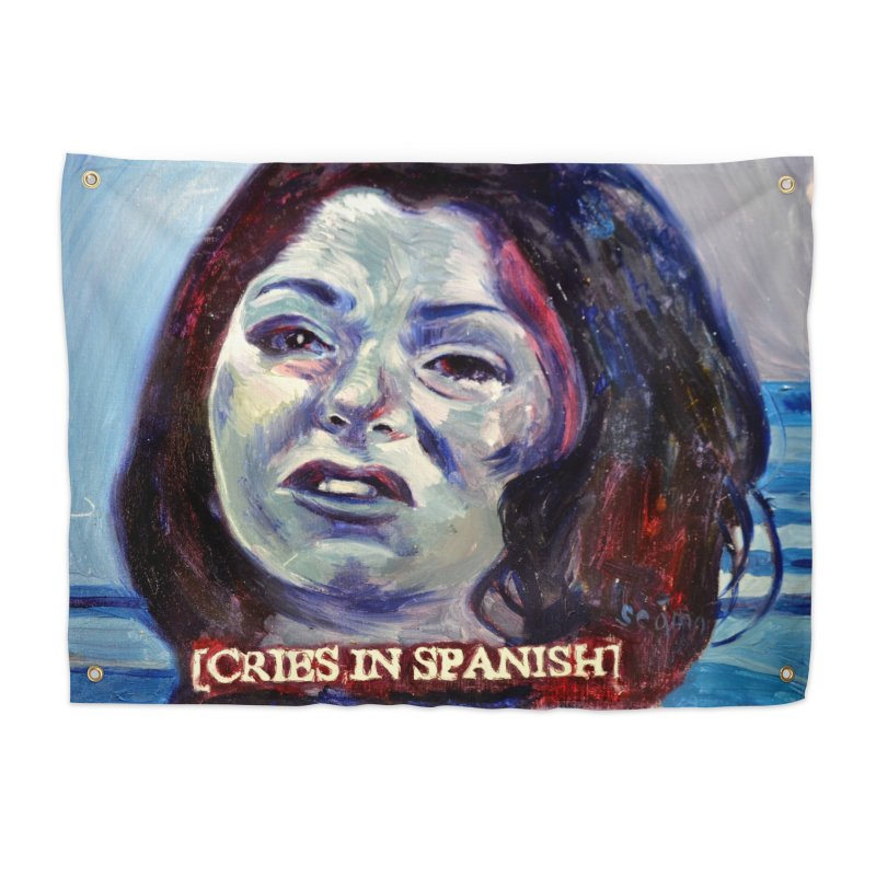 "cries Home Tapestry by Art Prints by Seama available under ""Home"""