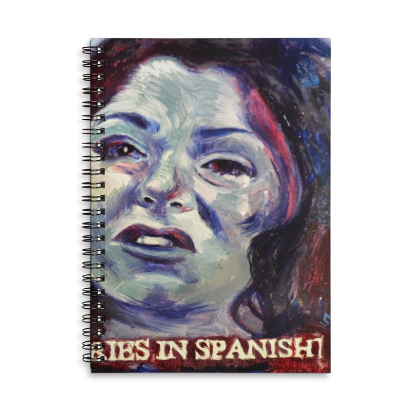 """cries Accessories Lined Spiral Notebook by Art Prints by Seama available under """"Home"""""""