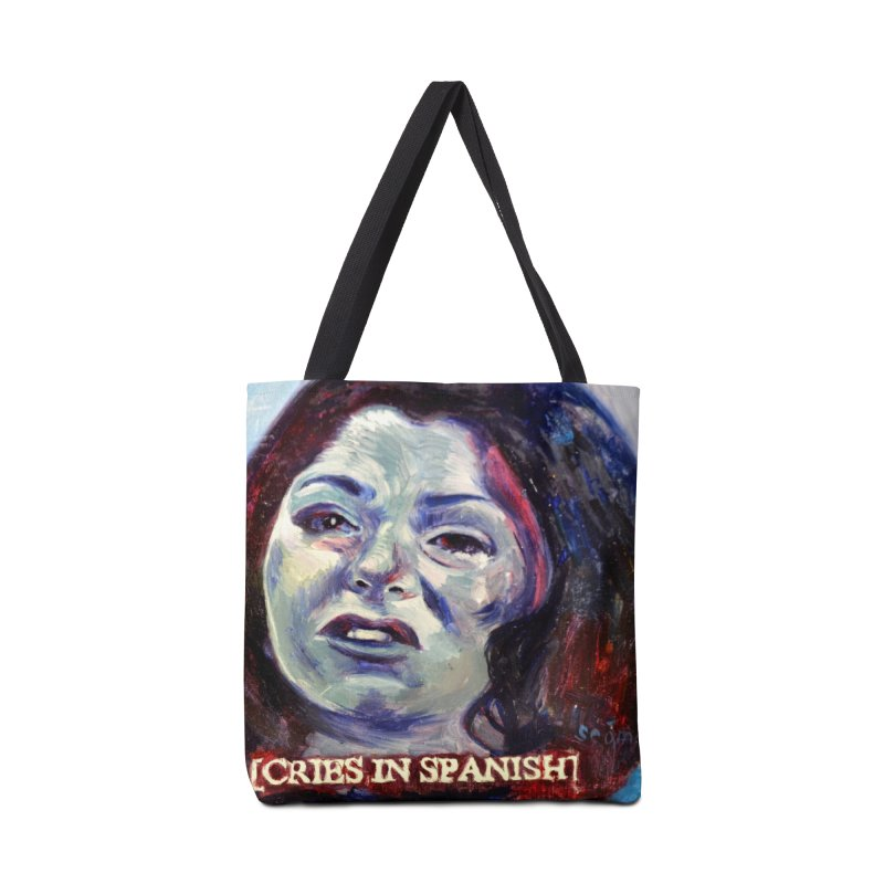 "cries Accessories Tote Bag Bag by Art Prints by Seama available under ""Home"""