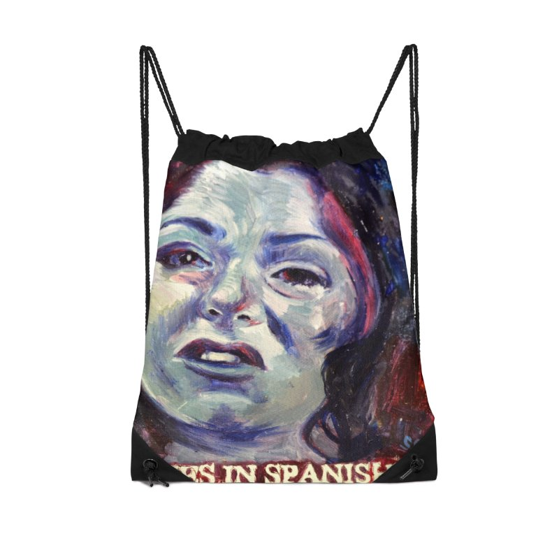 """cries Accessories Drawstring Bag Bag by Art Prints by Seama available under """"Home"""""""