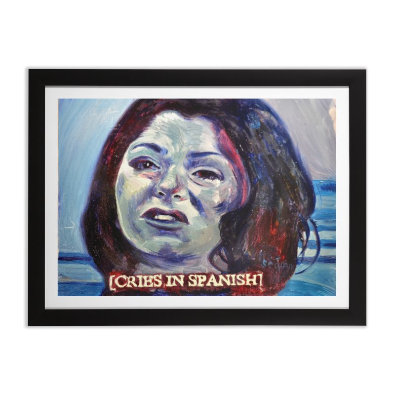 """cries Home Framed Fine Art Print by Art Prints by Seama available under """"Home"""""""