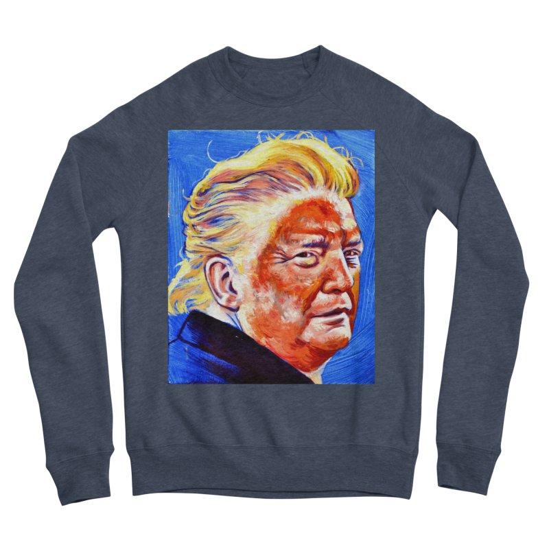 orange Women's Sponge Fleece Sweatshirt by paintings by Seamus Wray