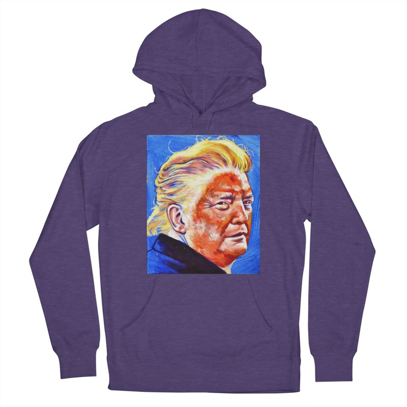 """orange Men's French Terry Pullover Hoody by Art Prints by Seama available under """"Home"""""""