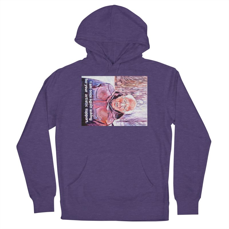 """bernie Women's French Terry Pullover Hoody by Art Prints by Seama available under """"Home"""""""