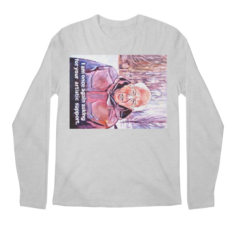 "bernie Men's Regular Longsleeve T-Shirt by Art Prints by Seama available under ""Home"""