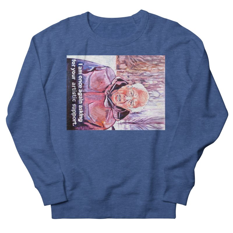 bernie Women's French Terry Sweatshirt by paintings by Seamus Wray