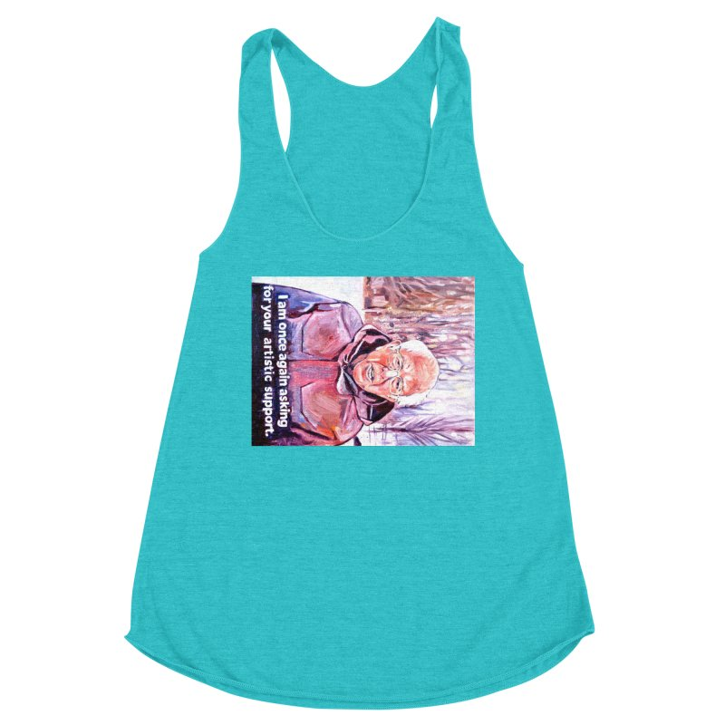 "bernie Women's Racerback Triblend Tank by Art Prints by Seama available under ""Home"""
