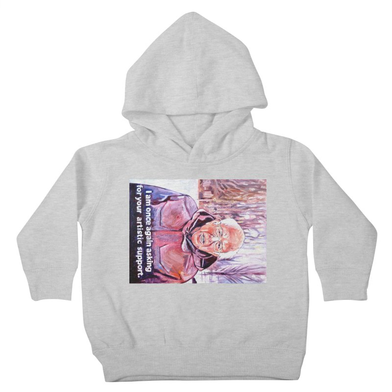 """bernie Kids Toddler Pullover Hoody by Art Prints by Seama available under """"Home"""""""