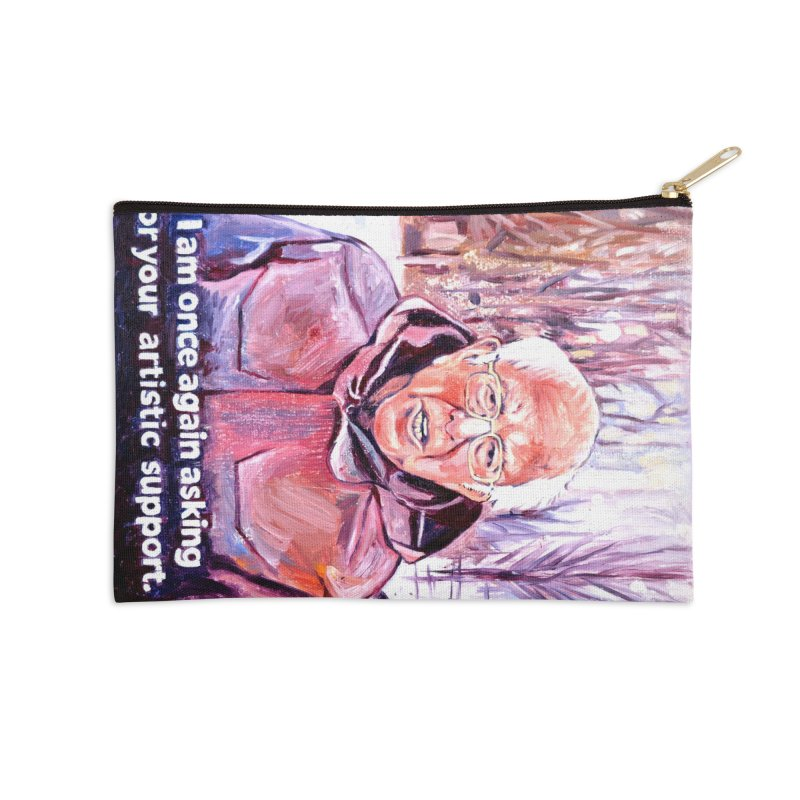 "bernie Accessories Zip Pouch by Art Prints by Seama available under ""Home"""