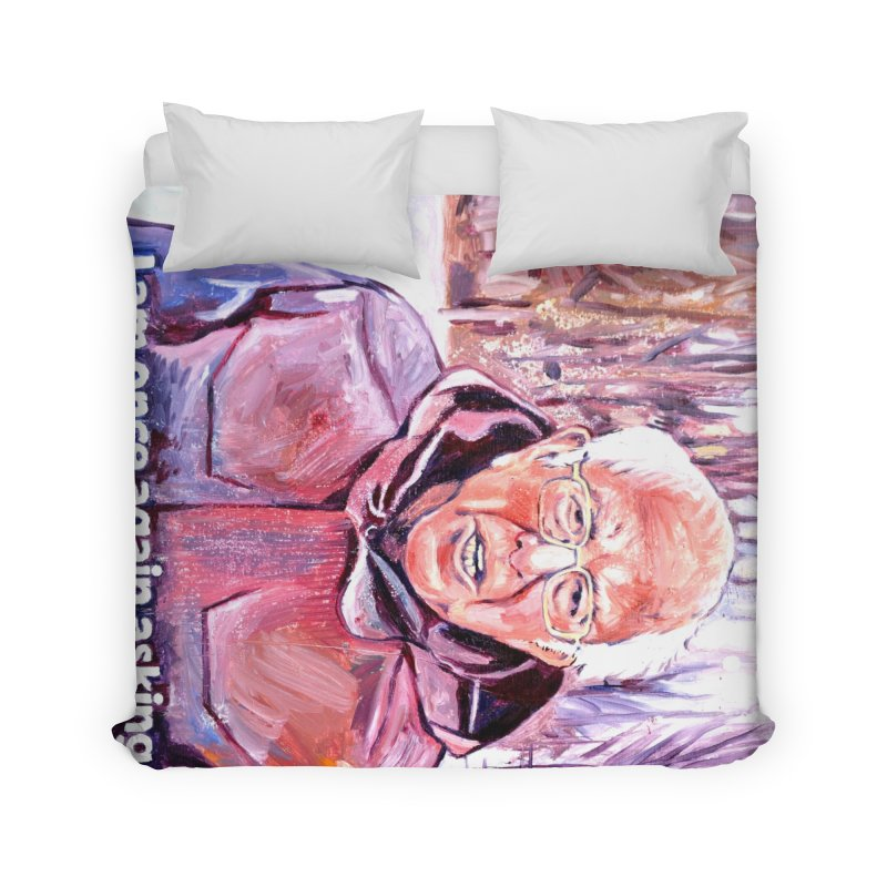 """bernie Home Duvet by Art Prints by Seama available under """"Home"""""""
