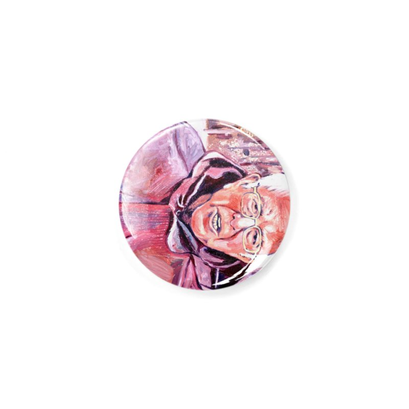 """bernie Accessories Button by Art Prints by Seama available under """"Home"""""""