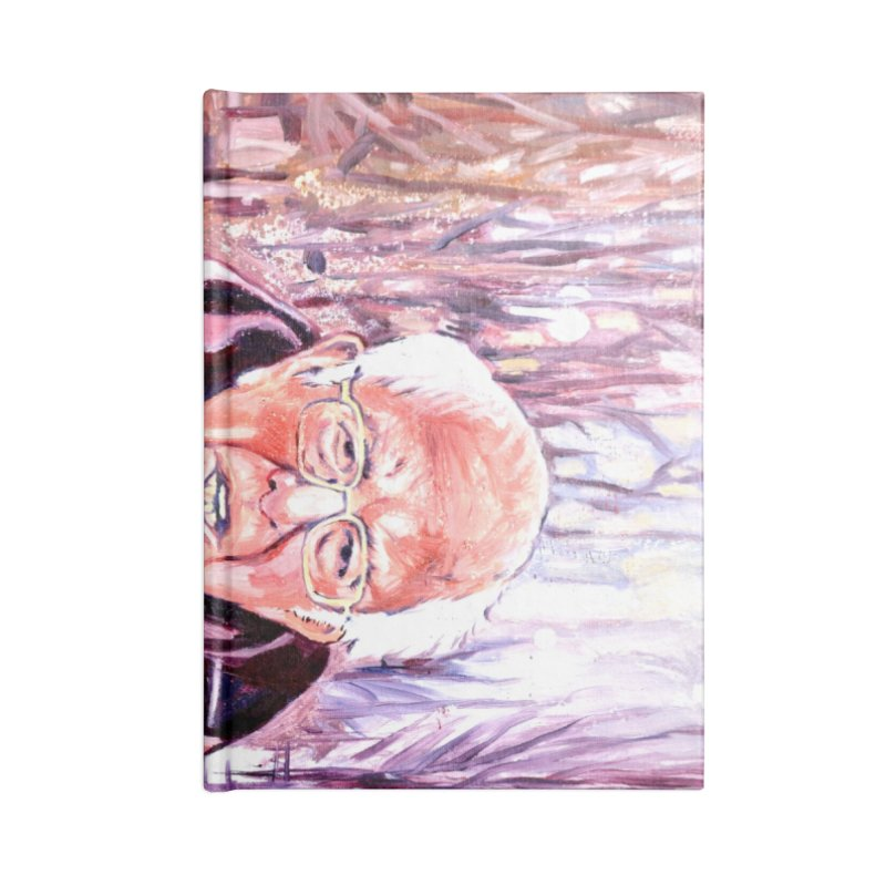 "bernie Accessories Lined Journal Notebook by Art Prints by Seama available under ""Home"""