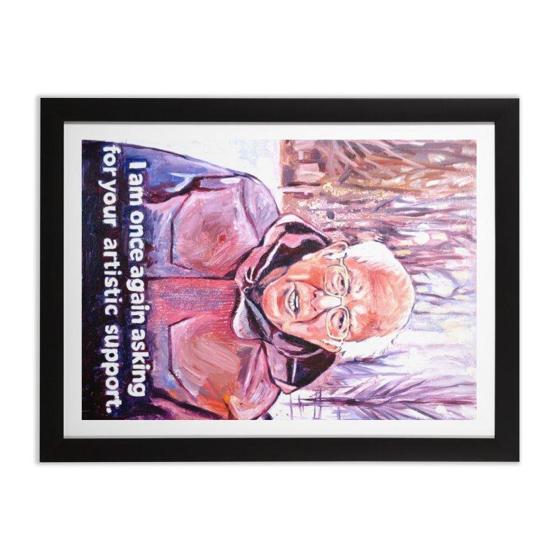 "bernie Home Framed Fine Art Print by Art Prints by Seama available under ""Home"""