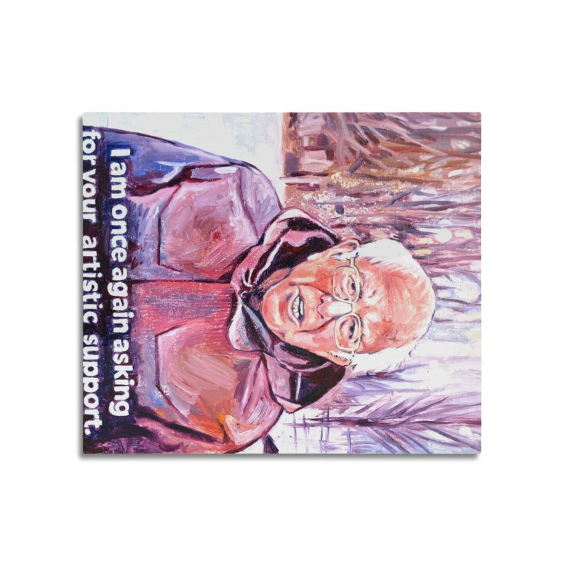 """bernie Home Mounted Aluminum Print by Art Prints by Seama available under """"Home"""""""