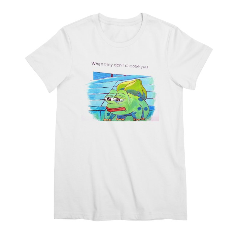 """pepesaur Women's Premium T-Shirt by Art Prints by Seama available under """"Home"""""""
