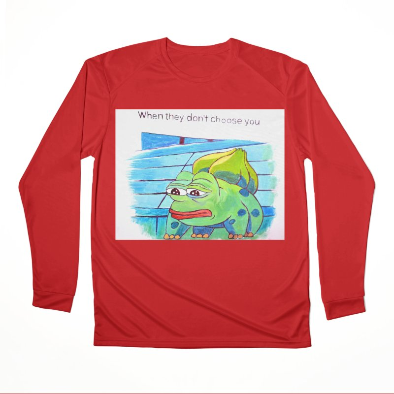 "pepesaur Men's Performance Longsleeve T-Shirt by Art Prints by Seama available under ""Home"""