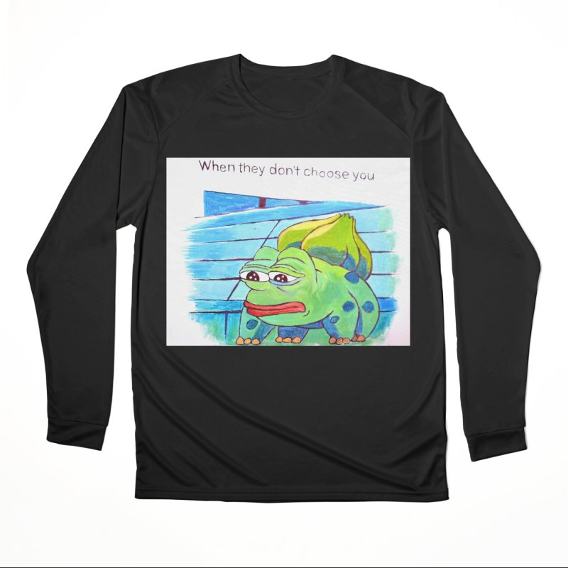 "pepesaur Women's Performance Unisex Longsleeve T-Shirt by Art Prints by Seama available under ""Home"""