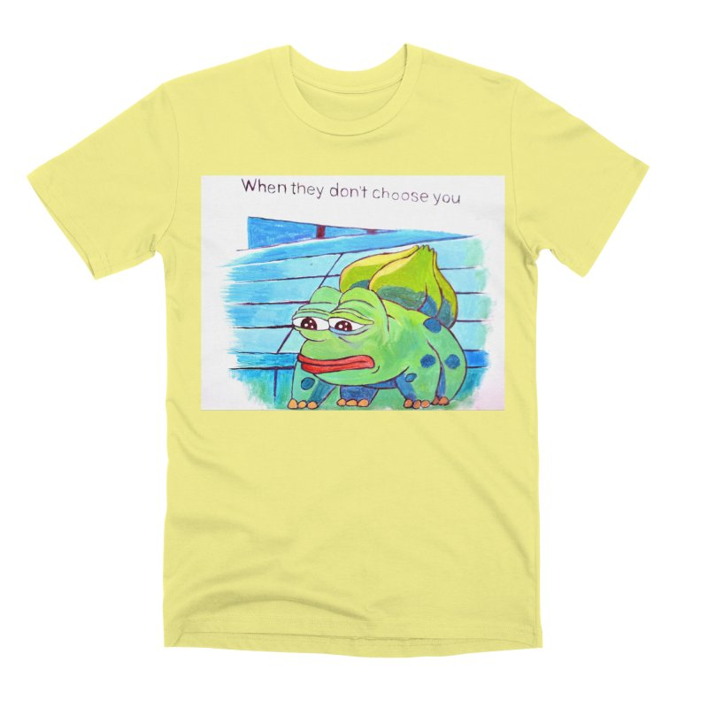 """pepesaur Men's Premium T-Shirt by Art Prints by Seama available under """"Home"""""""