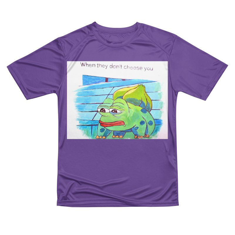 """pepesaur Men's Performance T-Shirt by Art Prints by Seama available under """"Home"""""""