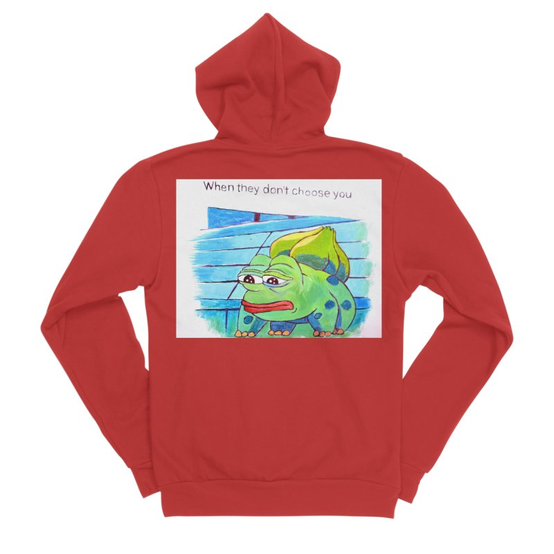 "pepesaur Men's Sponge Fleece Zip-Up Hoody by Art Prints by Seama available under ""Home"""