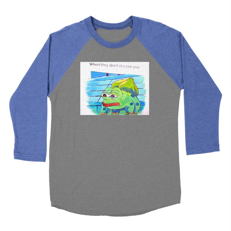 "pepesaur Women's Baseball Triblend Longsleeve T-Shirt by Art Prints by Seama available under ""Home"""