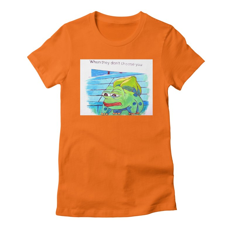 """pepesaur Women's Fitted T-Shirt by Art Prints by Seama available under """"Home"""""""
