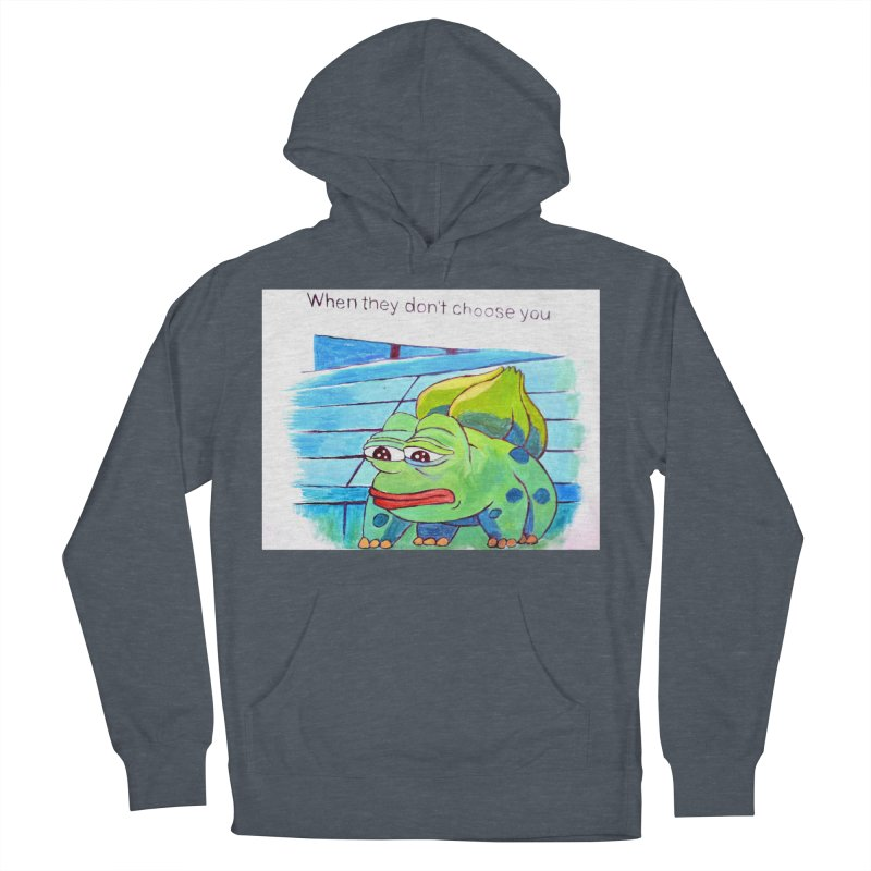 pepesaur Women's French Terry Pullover Hoody by paintings by Seamus Wray