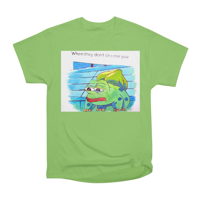 "pepesaur Men's Heavyweight T-Shirt by Art Prints by Seama available under ""Home"""