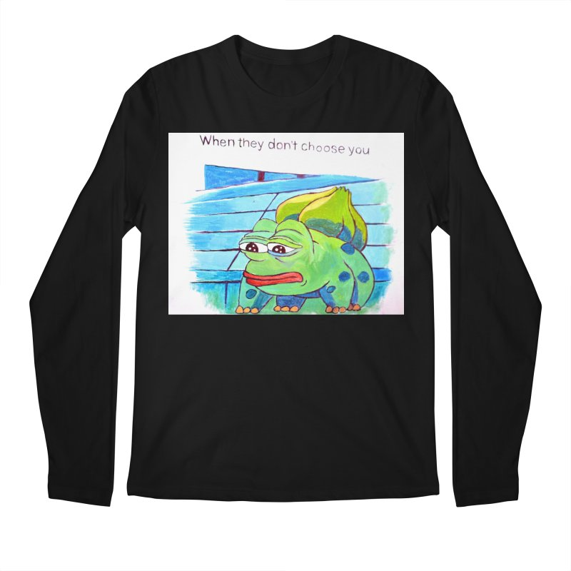 "pepesaur Men's Regular Longsleeve T-Shirt by Art Prints by Seama available under ""Home"""
