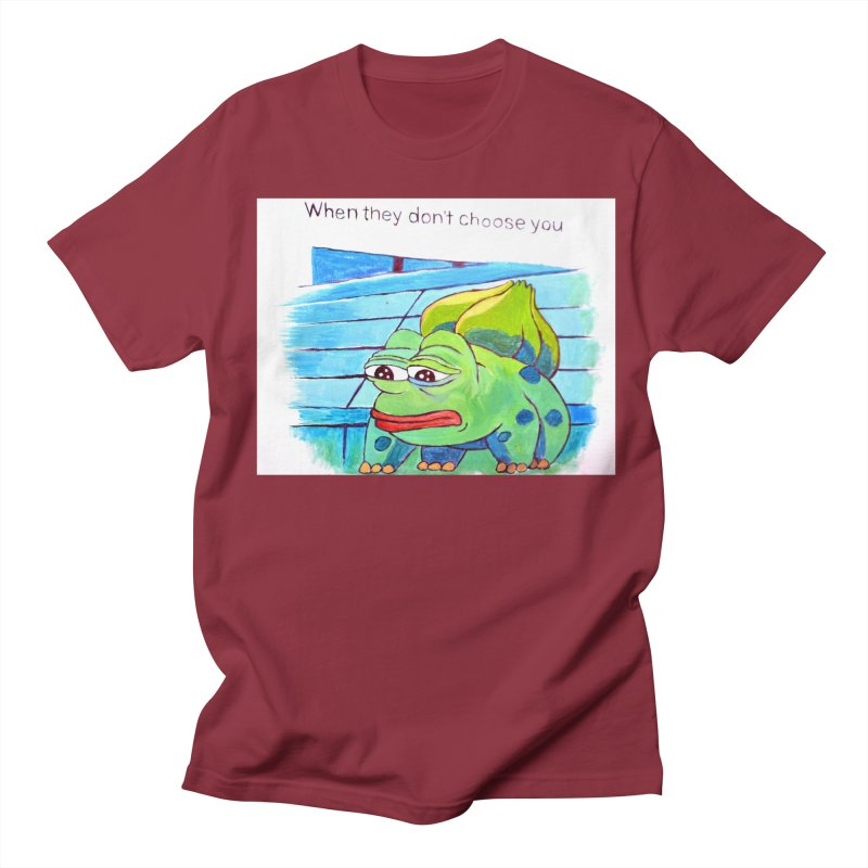 "pepesaur Men's Regular T-Shirt by Art Prints by Seama available under ""Home"""