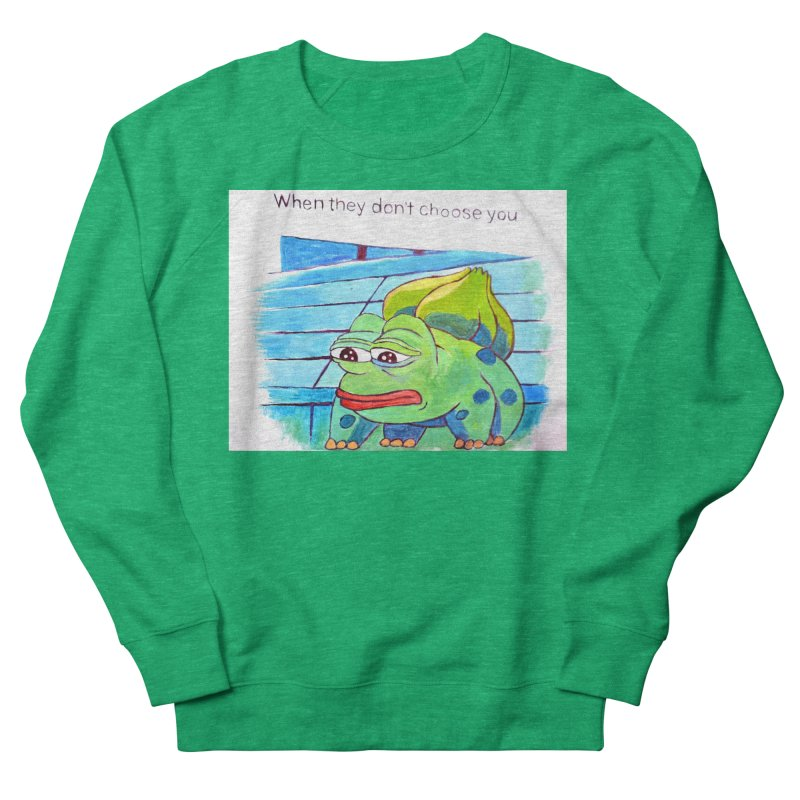 """pepesaur Women's Sweatshirt by Art Prints by Seama available under """"Home"""""""