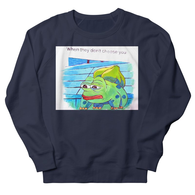 """pepesaur Women's French Terry Sweatshirt by Art Prints by Seama available under """"Home"""""""