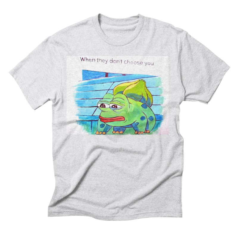 """pepesaur Men's Triblend T-Shirt by Art Prints by Seama available under """"Home"""""""
