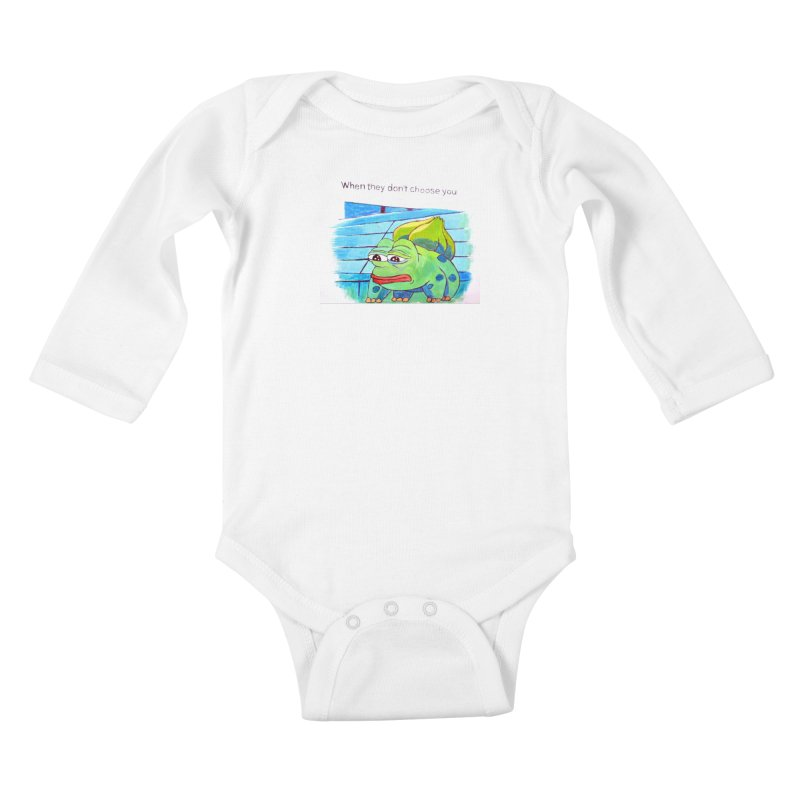 "pepesaur Kids Baby Longsleeve Bodysuit by Art Prints by Seama available under ""Home"""