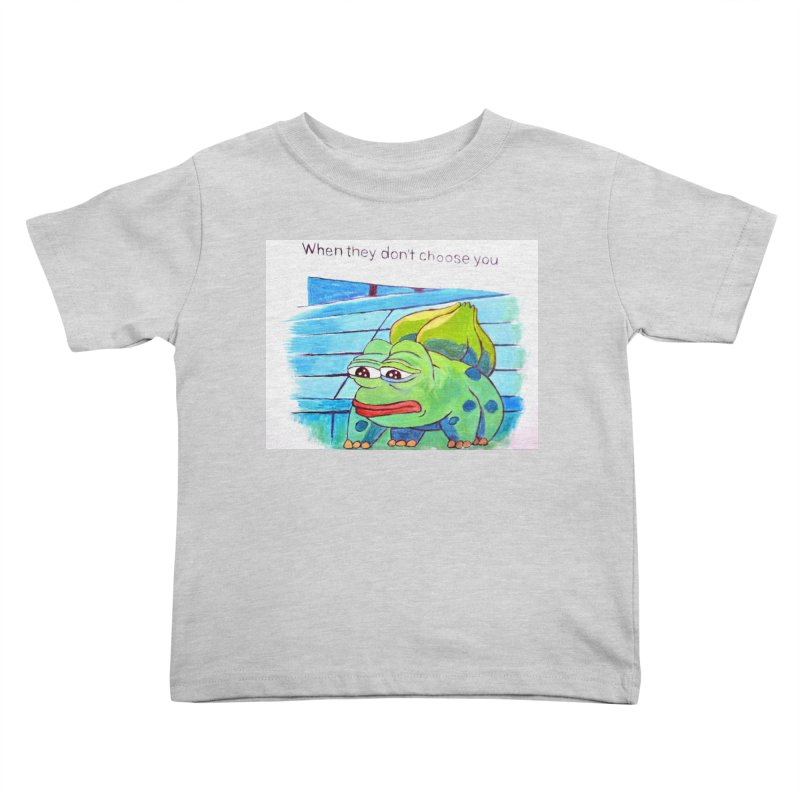 """pepesaur Kids Toddler T-Shirt by Art Prints by Seama available under """"Home"""""""