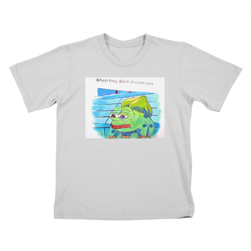 "pepesaur Kids T-Shirt by Art Prints by Seama available under ""Home"""