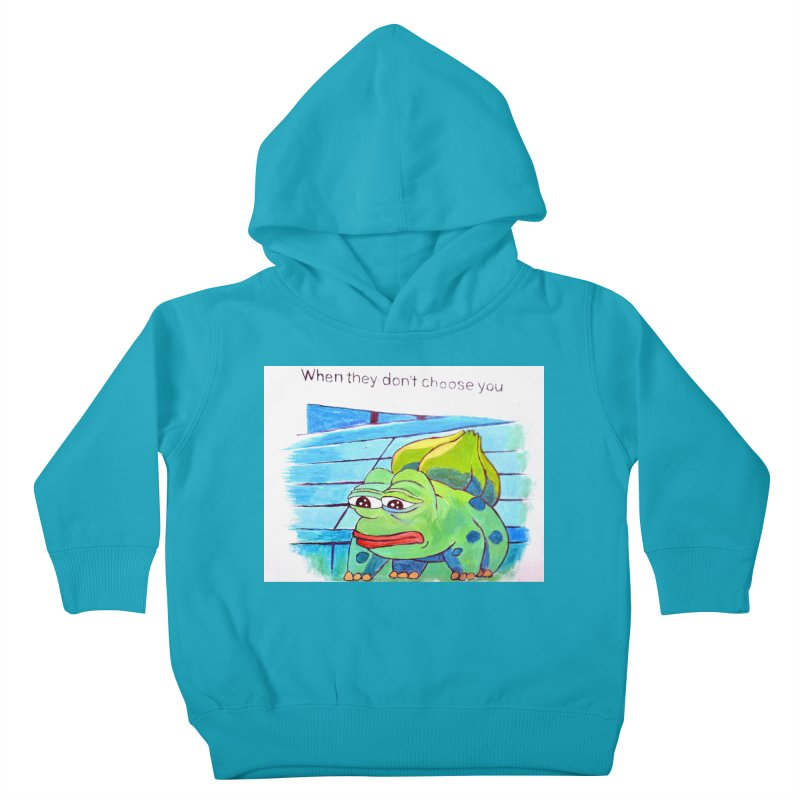 """pepesaur Kids Toddler Pullover Hoody by Art Prints by Seama available under """"Home"""""""