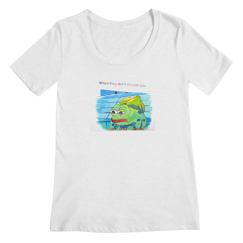 "pepesaur Women's Regular Scoop Neck by Art Prints by Seama available under ""Home"""