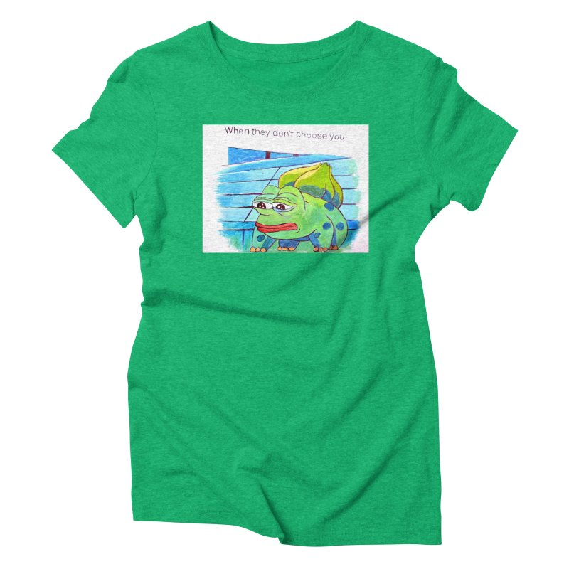 "pepesaur Women's Triblend T-Shirt by Art Prints by Seama available under ""Home"""