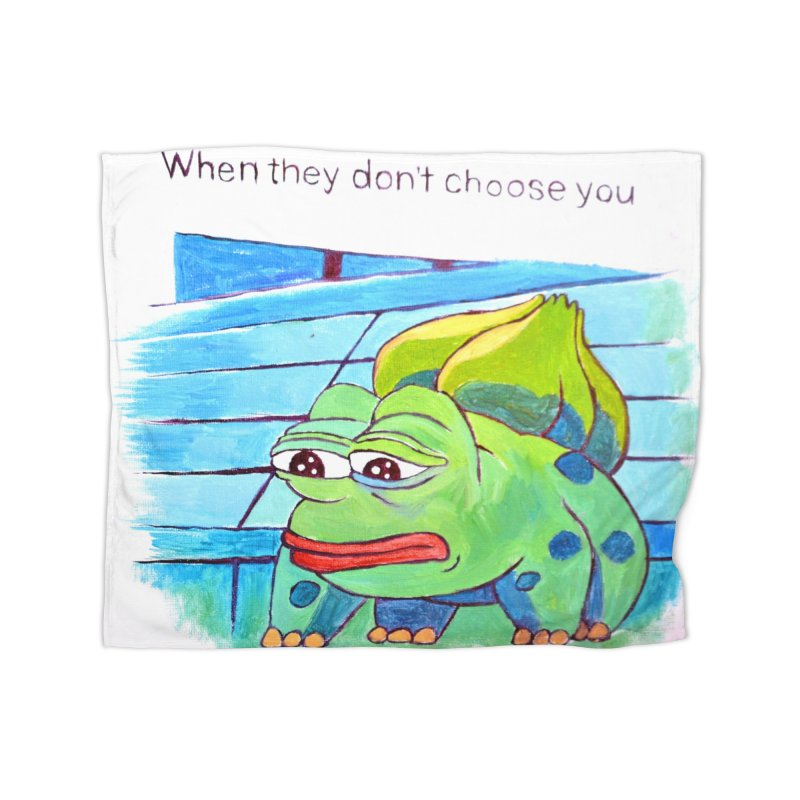 """pepesaur Home Fleece Blanket Blanket by Art Prints by Seama available under """"Home"""""""