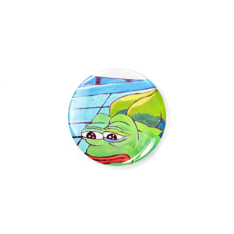 """pepesaur Accessories Button by Art Prints by Seama available under """"Home"""""""