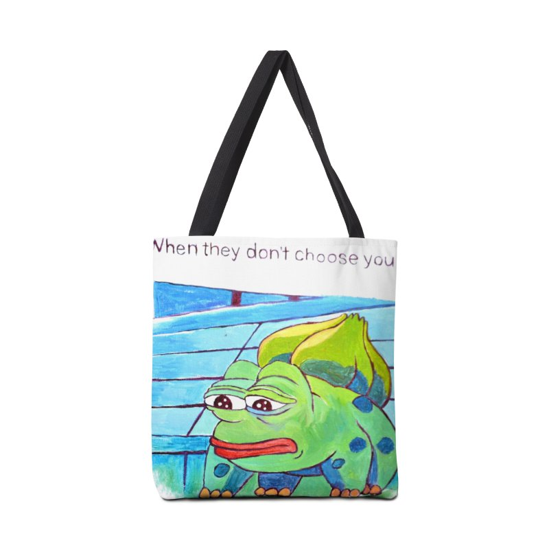 "pepesaur Accessories Tote Bag Bag by Art Prints by Seama available under ""Home"""