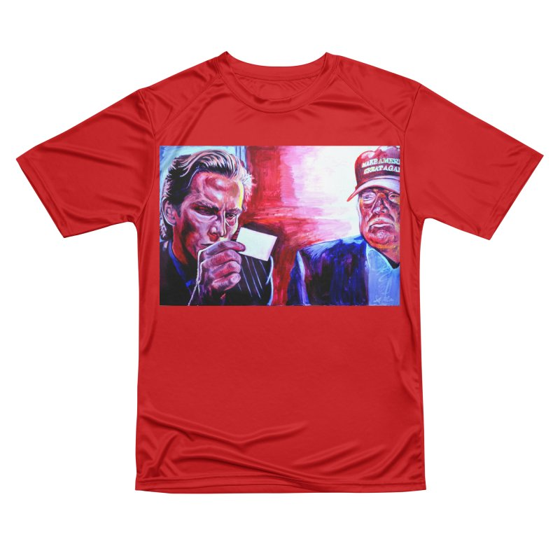"""american psycho Women's Performance Unisex T-Shirt by Art Prints by Seama available under """"Home"""""""