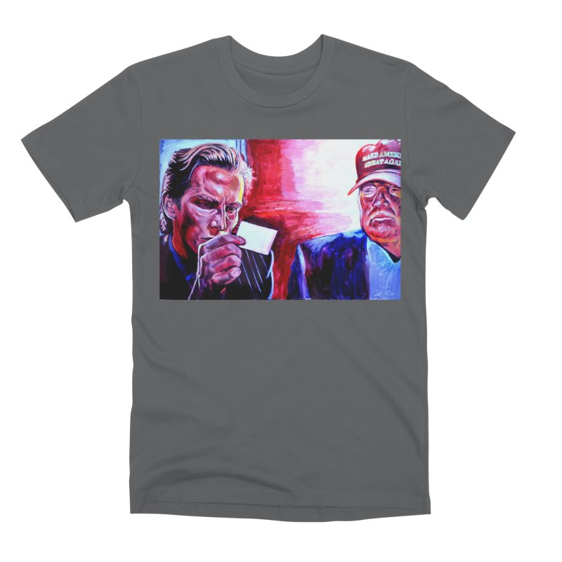 """american psycho Men's Premium T-Shirt by Art Prints by Seama available under """"Home"""""""