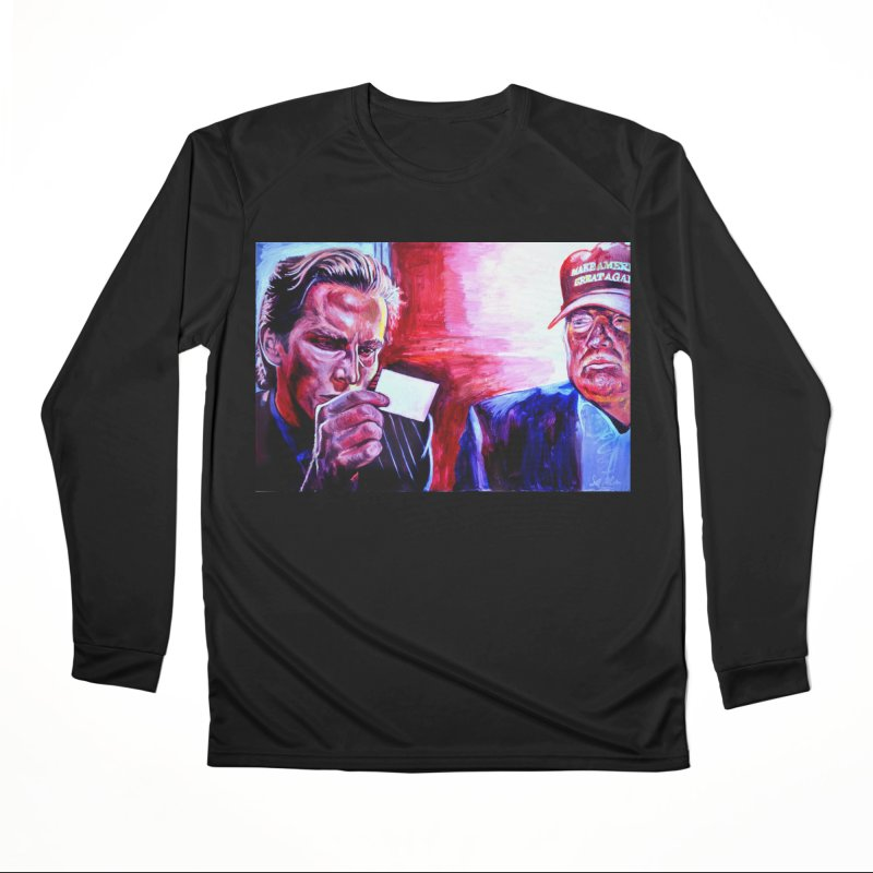 "american psycho Men's Performance Longsleeve T-Shirt by Art Prints by Seama available under ""Home"""