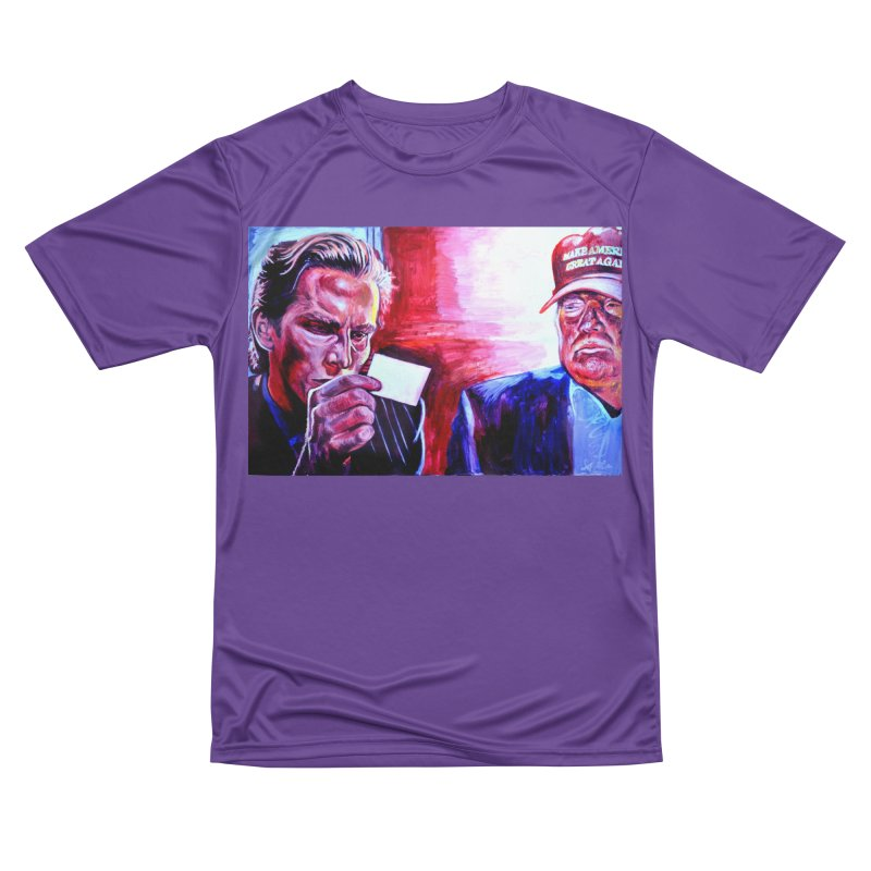 """american psycho Men's Performance T-Shirt by Art Prints by Seama available under """"Home"""""""