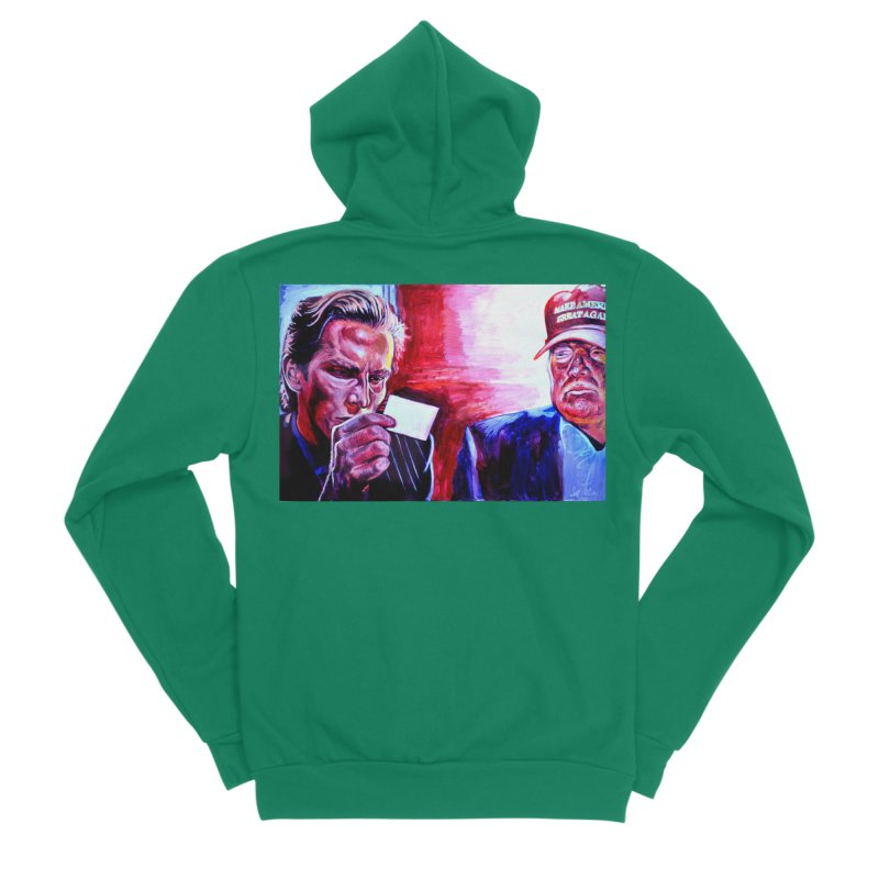 "american psycho Men's Sponge Fleece Zip-Up Hoody by Art Prints by Seama available under ""Home"""