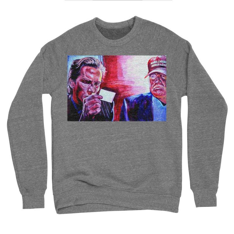 """american psycho Women's Sponge Fleece Sweatshirt by Art Prints by Seama available under """"Home"""""""