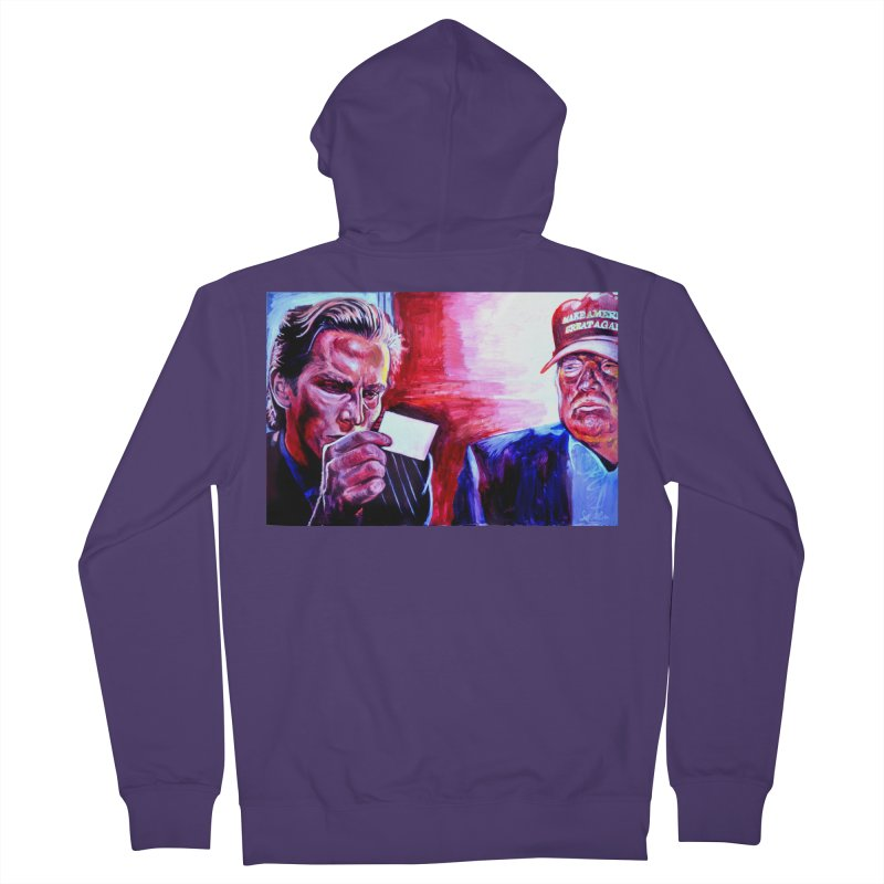 """american psycho Women's French Terry Zip-Up Hoody by Art Prints by Seama available under """"Home"""""""