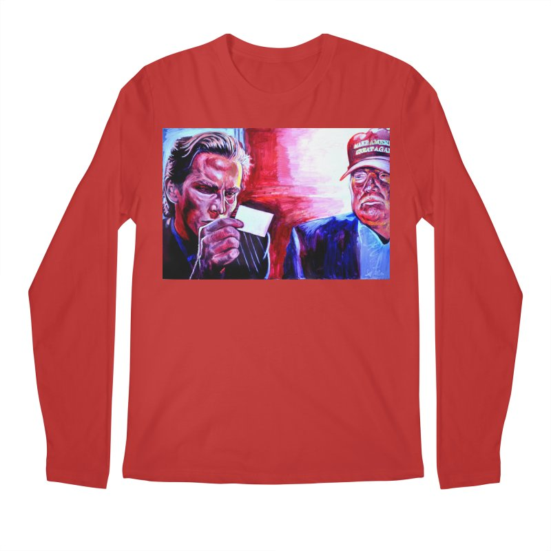 "american psycho Men's Regular Longsleeve T-Shirt by Art Prints by Seama available under ""Home"""